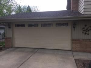 Updating An Old Garage Door In Burnsville All Seasons