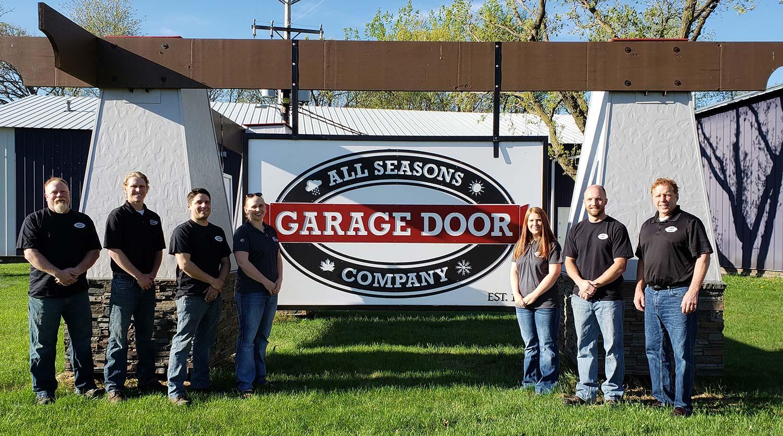All Seasons Garage Door Team - garage door professionals