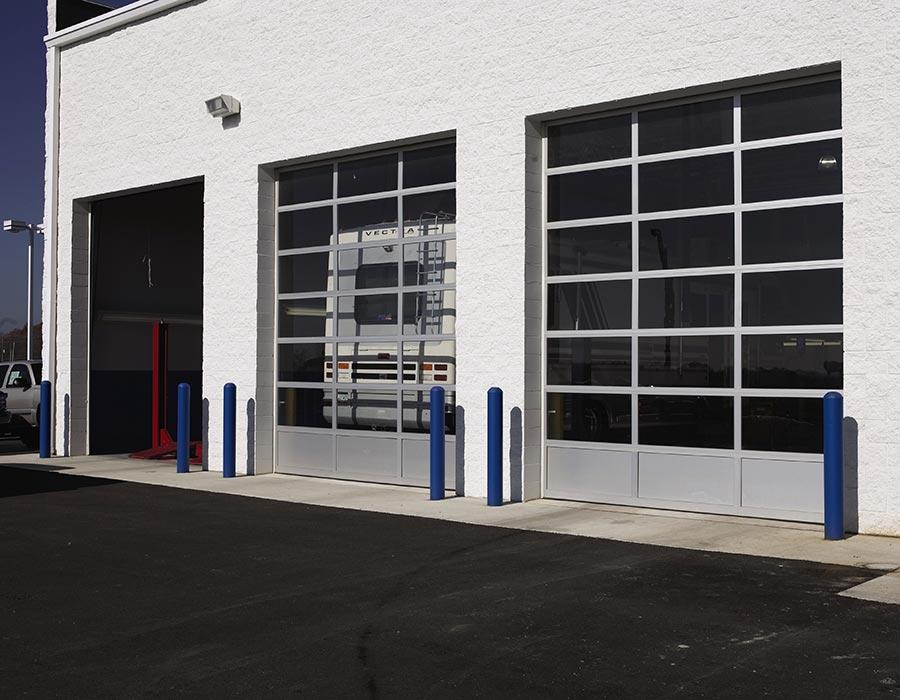 Commercial garage door maintenance and repairs