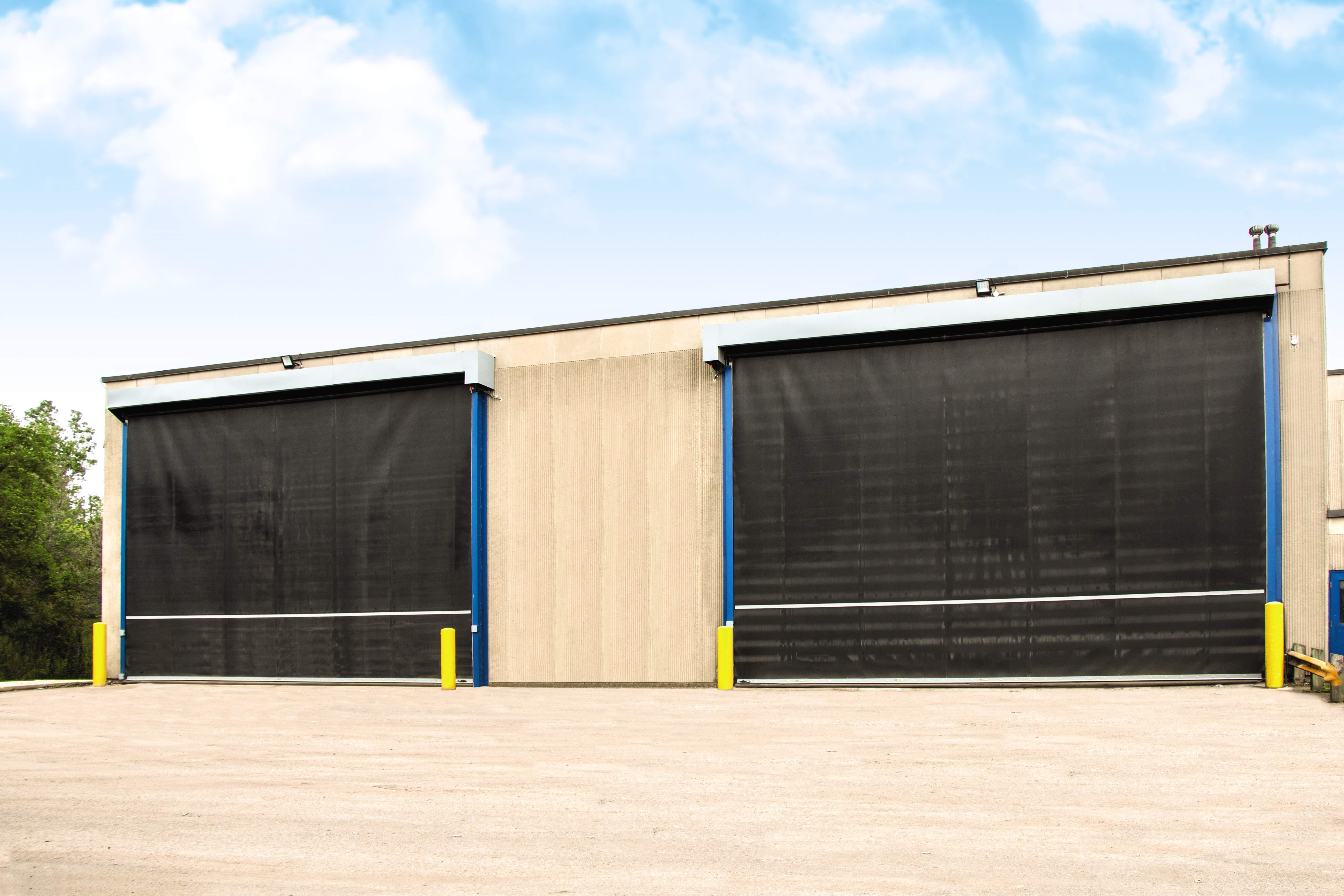 Commercial garage door services in MN