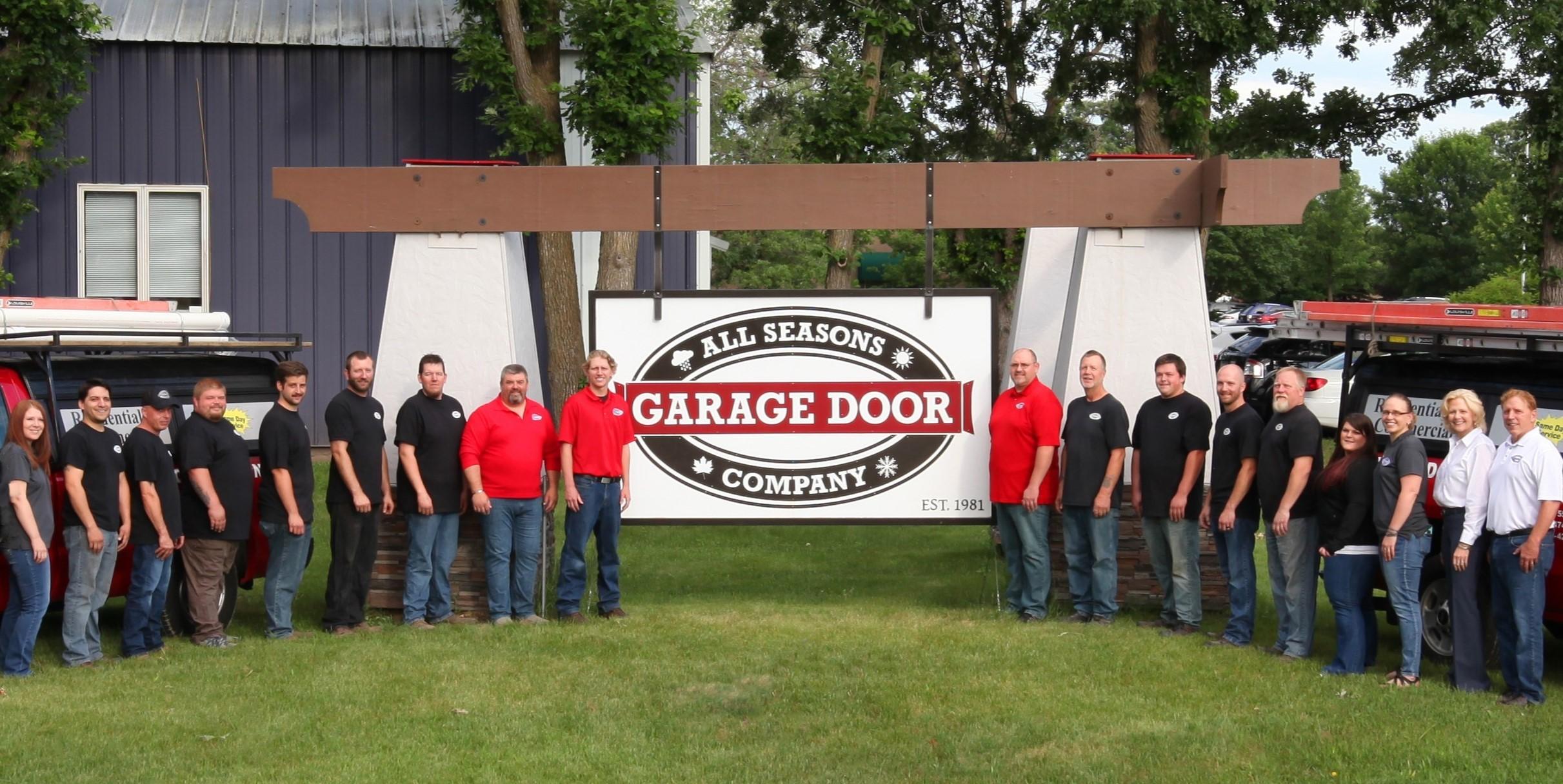 All Seasons Garage Door Company - Garage Door Professionals