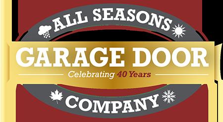 All Seasons Garage Door Company Celebrating 40 Years